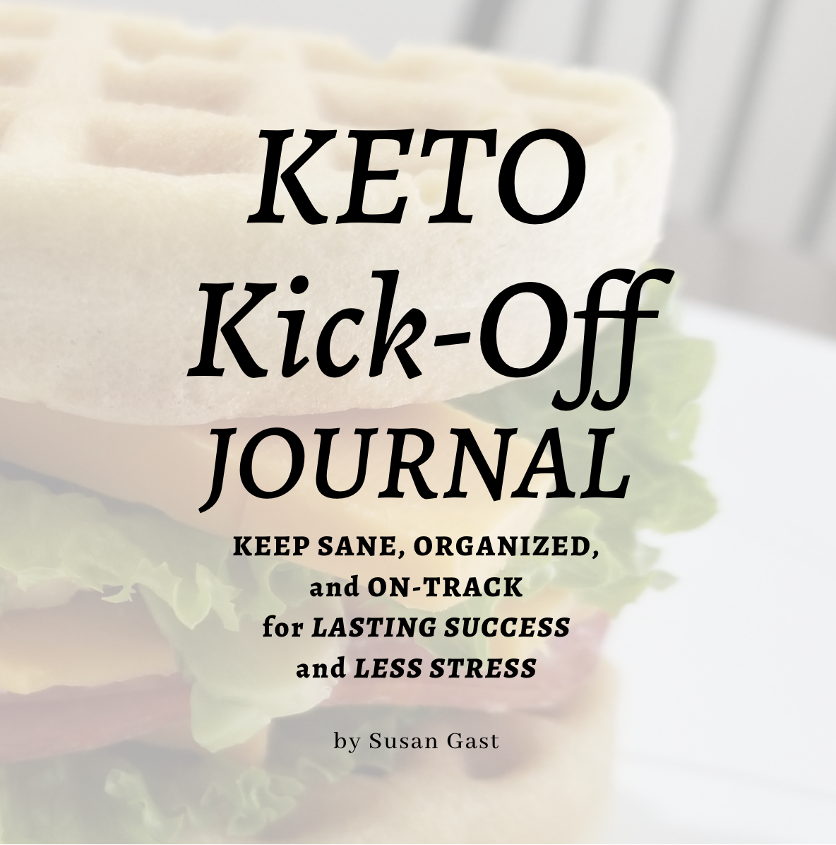 Keto Kick-Off Journal Front Cover