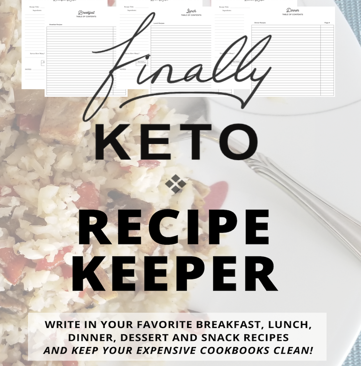 Finally Keto Recipe Keeper