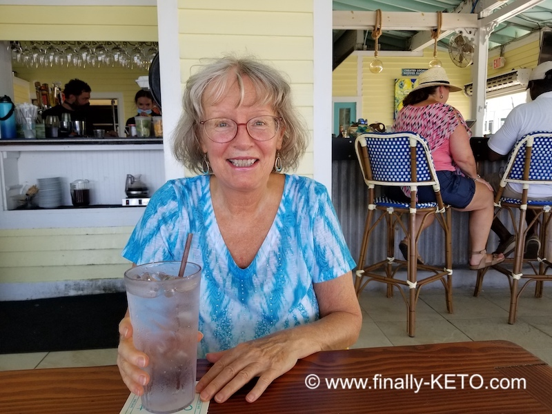 Susan at Southernmost Beach Cafe, Key West