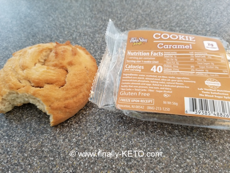 ThinSlim Foods Caramel Cookie
